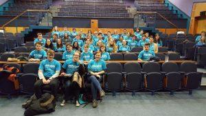 Volunteers for the Principia weekend