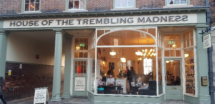 The House of Trembling Madness