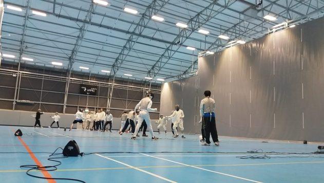 Fencing training