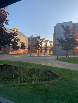 Life on campus - Langwith College accommodation