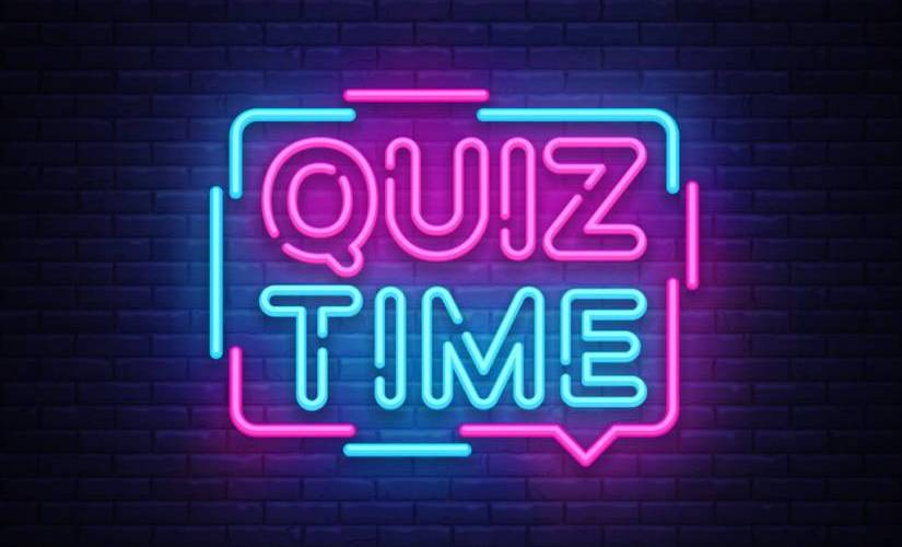 stay in touch with your family and friends - create a quiz