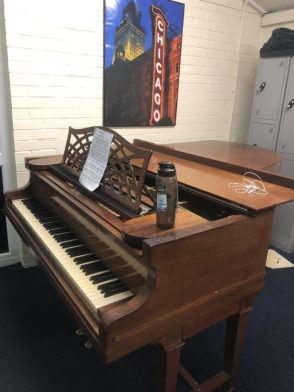 You can access instruments when you become a part of the music society