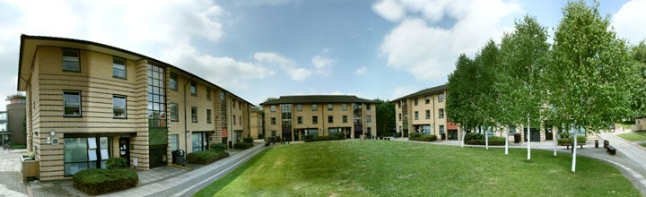 A photo of the James College accommodation.