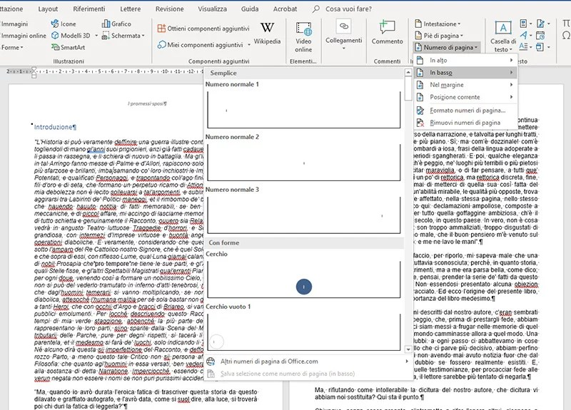 inserimento-numeri-di-pagina-in-word