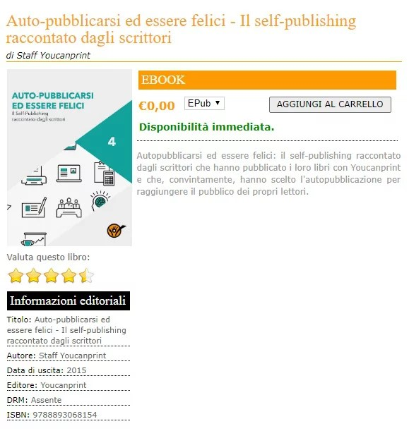 realizzare un ebook idoneo per Amazon