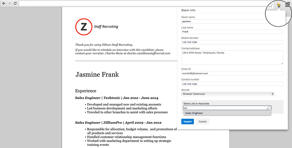 resume extractor source candidates instantly zoho blog