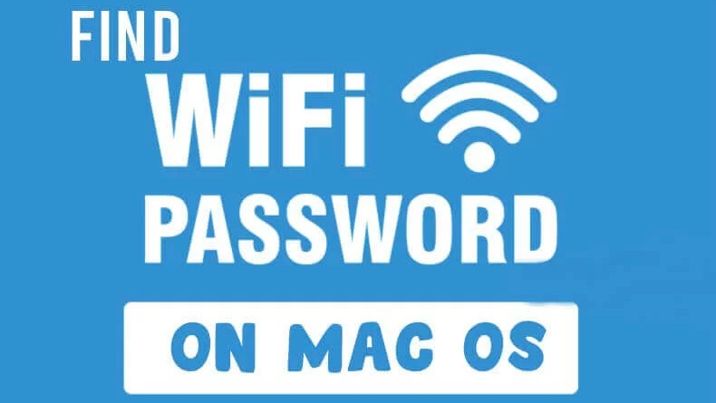 wifi password mac