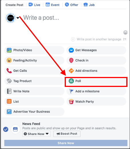 How to Create a Poll on Facebook?