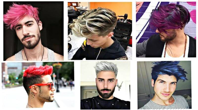 Style your hair for every occasion with the best hair colours for men