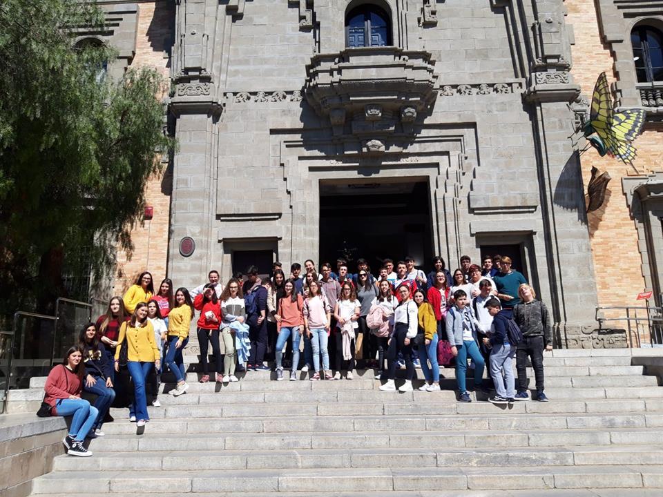 Visita de la Casa de la Ciencia en Sevilla