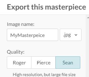 picmonkey image resolution options