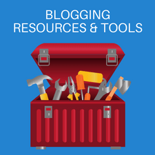 Recommended blogging tools
