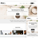 Mai Lifestyle Pro Theme is the Best for Lifestyle Bloggers