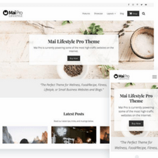 studiopress mai pro theme for lifestyle bloggers