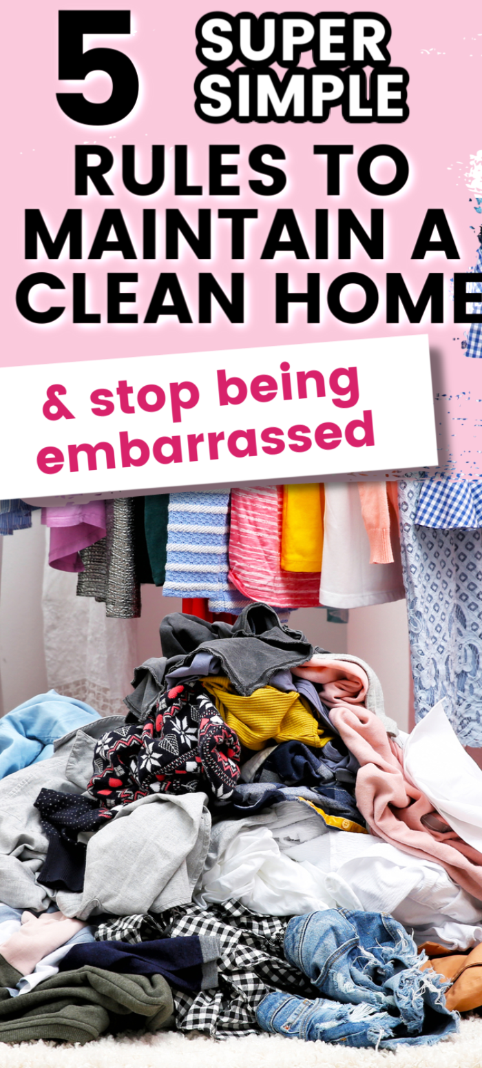 these super simple ruses for keeping a clean home are life changing