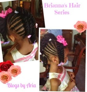 Brianna's Hair Series ~ Easter 2012