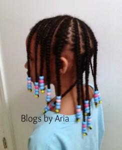 Brianna's Hair Series:  Keeping it Simple