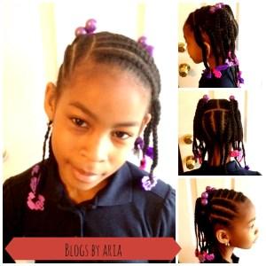 Brianna's Hair Series:  Pretty Purple