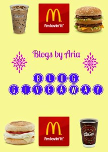 McDonald's Giveaway Winners!!!