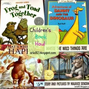 Children's Book Haul