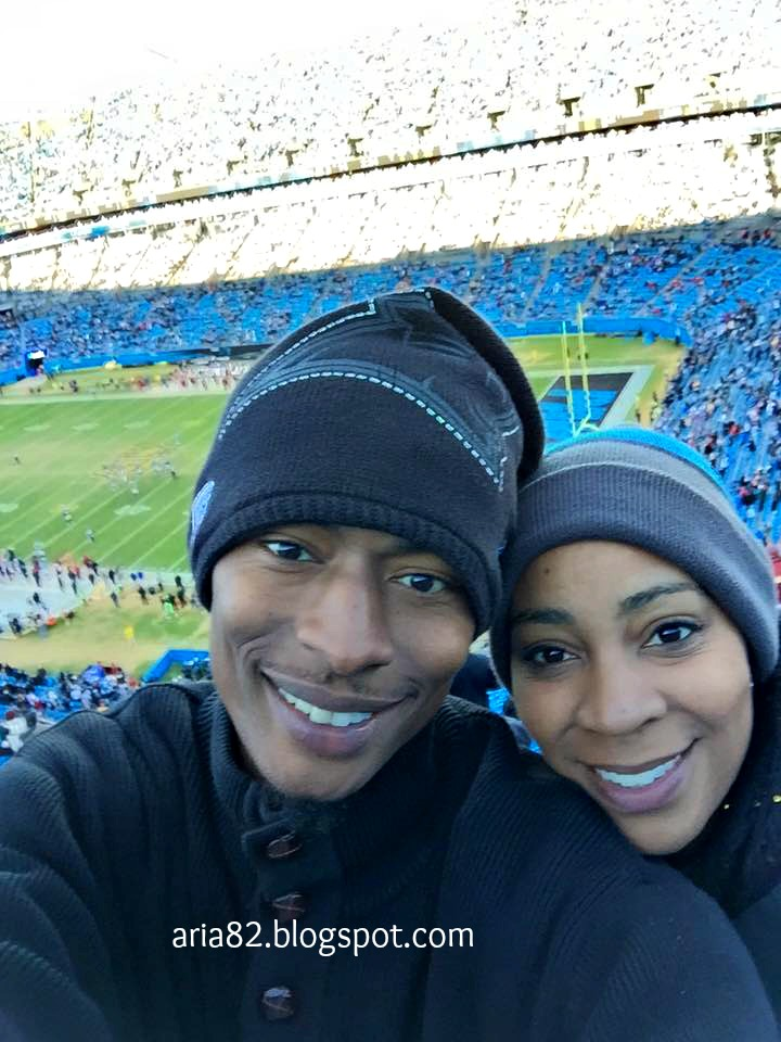Carolina Panthers couple
