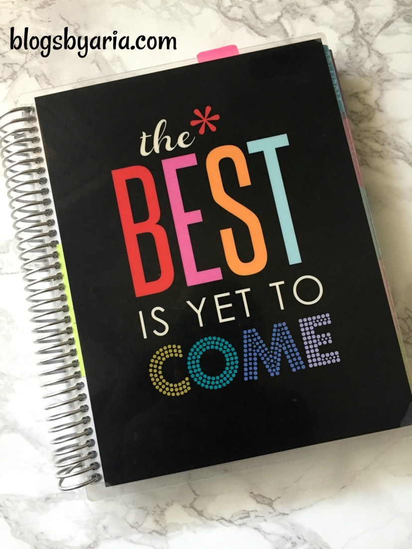 My First Erin Condren Life Planner - 2015
