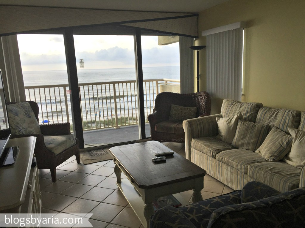 living room in beach house