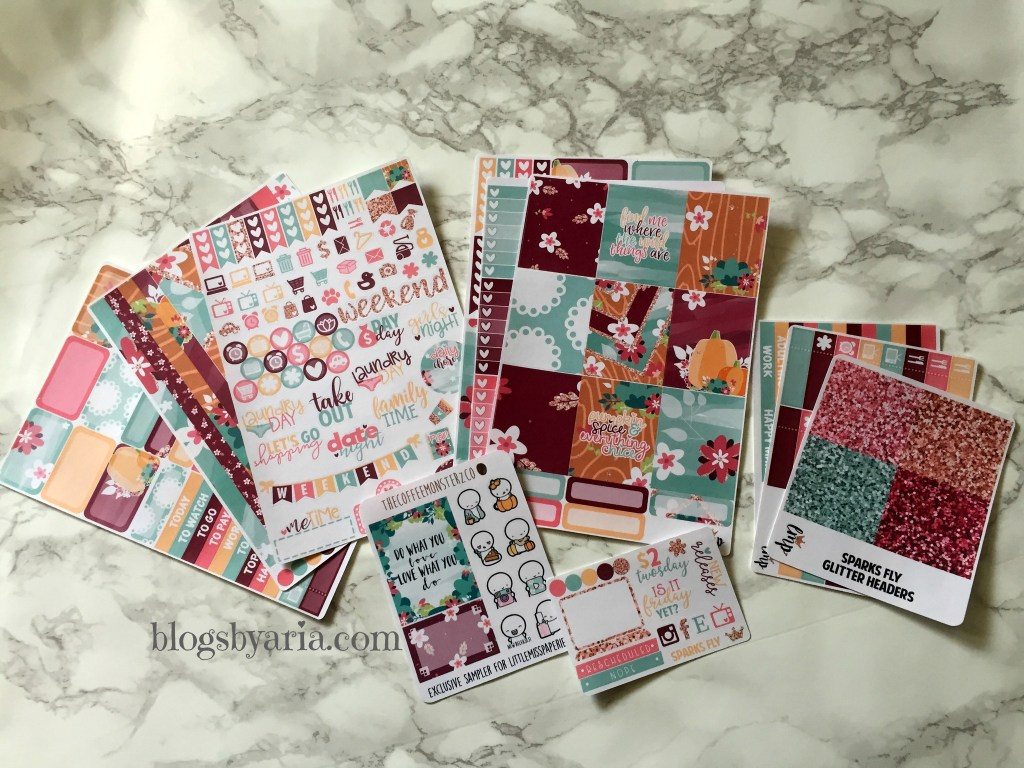 Little Miss Paperie Sparks Fly planner kit