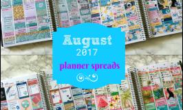 August Planner Spreads Round-Up