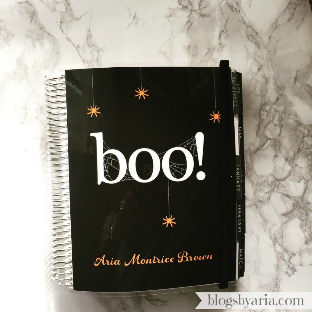 Boo! Erin Condren Planner Cover