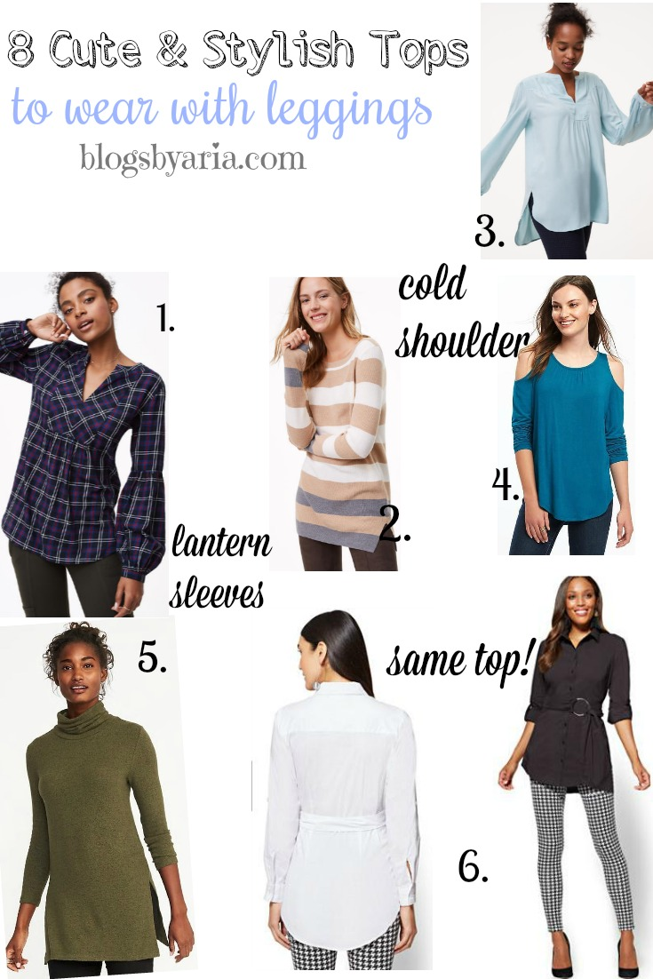 6cc823ca848 8 Cute   Comfy Tops to Wear with Leggings - Blogs by Aria