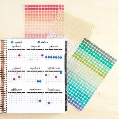 Erin Condren Colorful Circles Sticker Pack