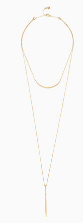 Stella & Dot Kari layered necklace