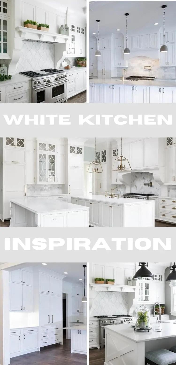 White Kitchen Design Inspiration