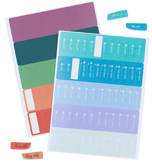 Erin Condren Customizable Event Stickers