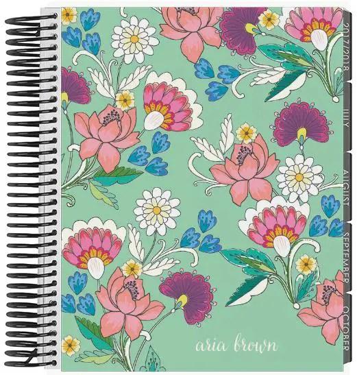 Erin Condren Vintage Floral Life Planner