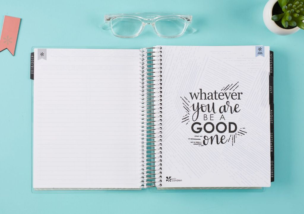 New notes page in the 2019 #lifeplanner