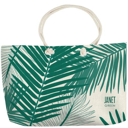 Erin Condren Palms Oversized Tote