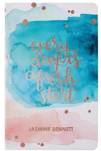 Erin Condren Watercolor Splash Dot Grid Hardbound Notebook