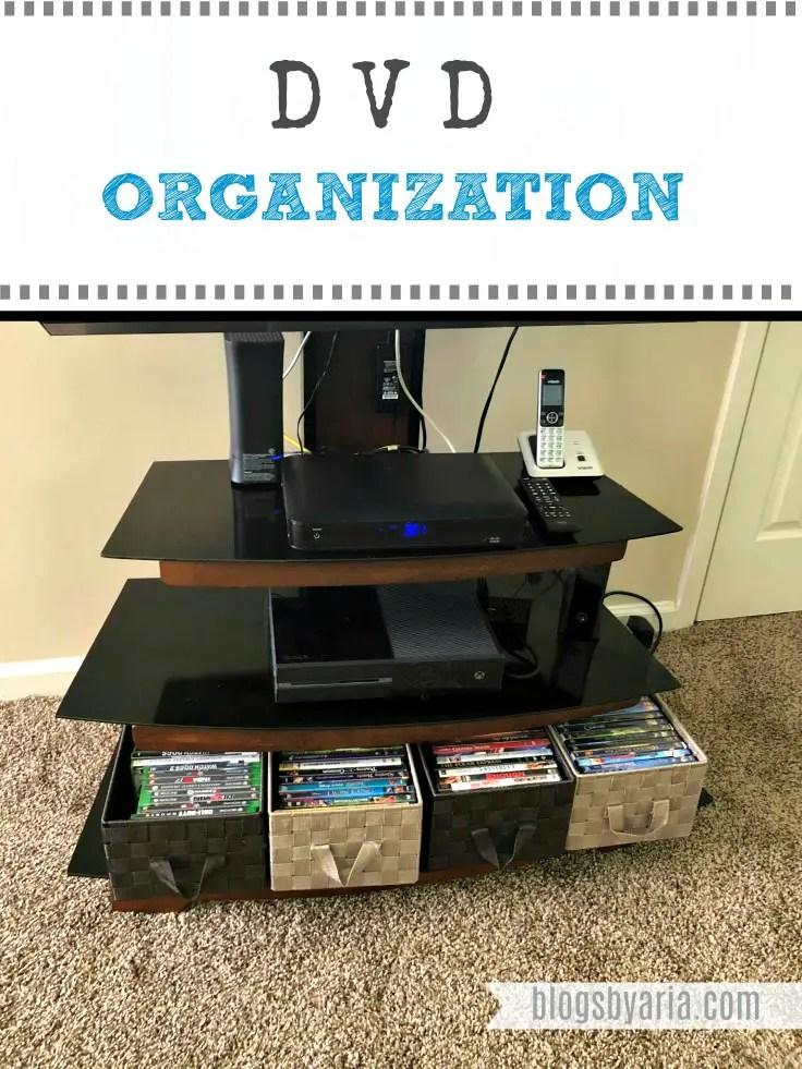 DVD Organization #organize