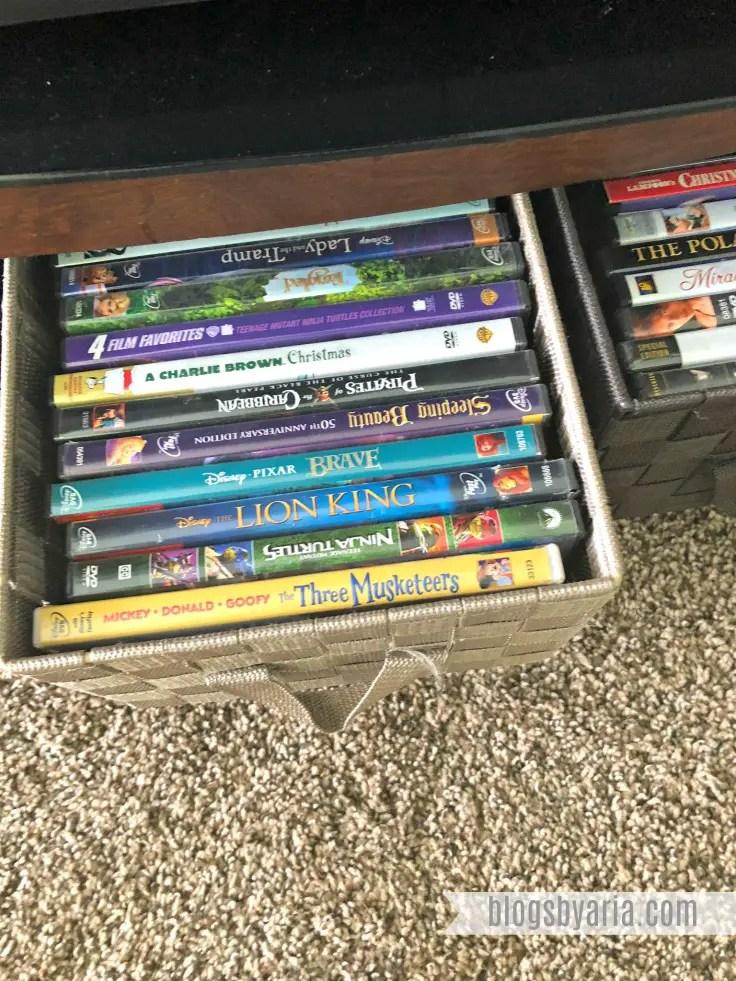 DVD Organization