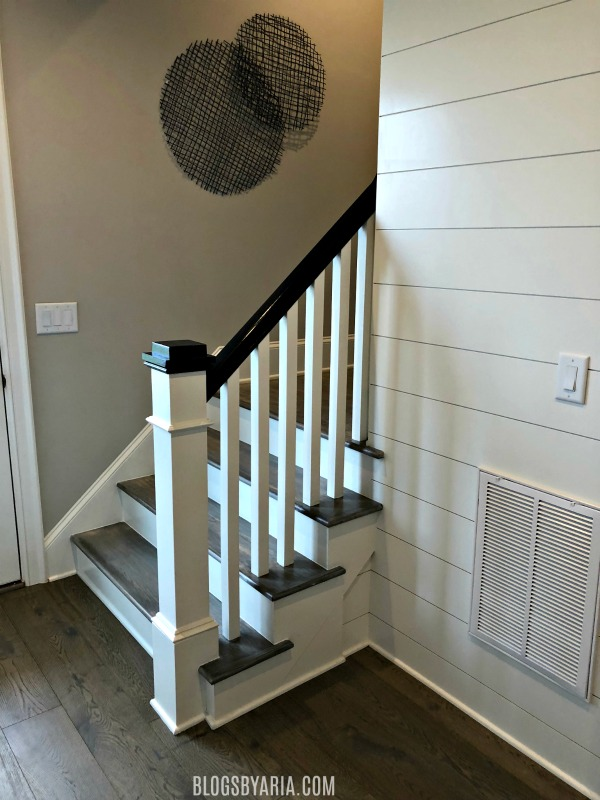 second stairway access