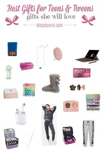Tween and Teen Girl Gift Guide