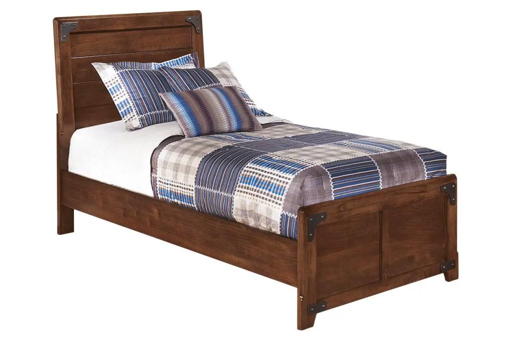 boys bedroom furniture - Delburne Twin Panel Bed