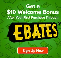 Get paid to shop with EBATES!