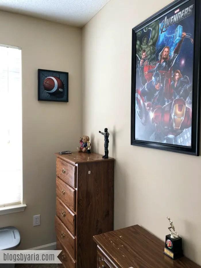 boys bedroom wall decor