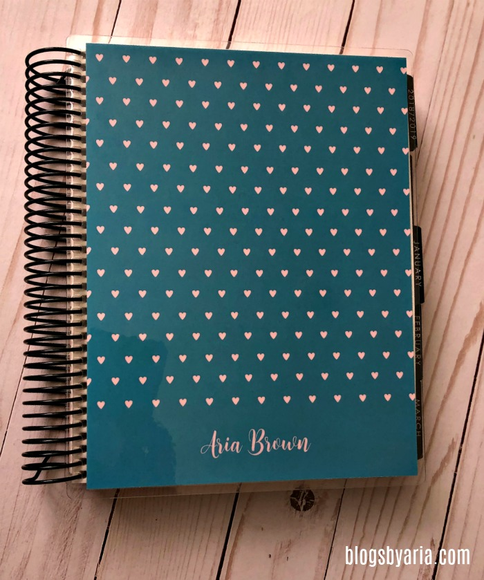January Favorites : My 2019 Erin Condren Life Planner of course!