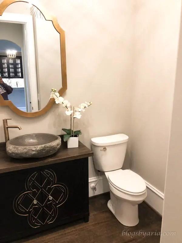 powder bathroom design
