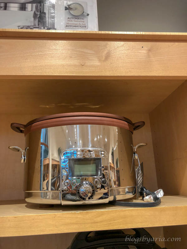 my dream crock pot from Williams Sonoma