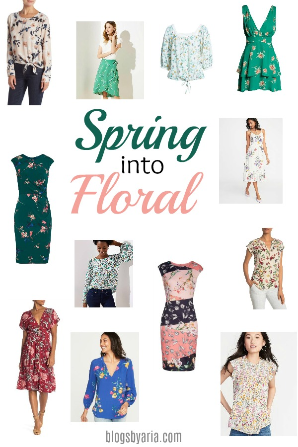 82ff2370dc It s officially Spring! And Spring means bring on the florals!! I ve